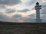 Barbaria Lighthouse at Dawn