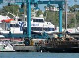 I saw Ibiza Jet afloat at La Savina two days before I took this picture at Ibiza