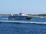Balear Jet Approaching La Savina - September 2012