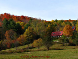 Vermont House in Fall