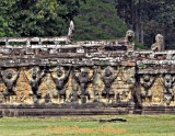 Wonderful Stonework At Angkor Wat