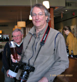 Peter, Beer with Ken in the Background