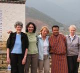 Rosie, Donna, Roxana, Wangdi,  Joanna