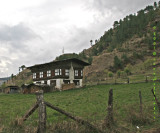 Bhutanese Hill House