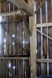Inside the K's old barn.....