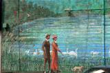 Mural on Roncesvalles