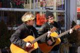 Street performers....