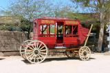 Stage coach at Old Tucson....