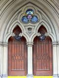 The doors at St. James Cathedral, Toronto