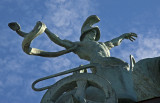 Statue in Hero Square