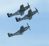 Mustang fighter planes
