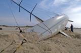 the Gwaihir, shipwrecked