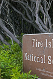 Fire Island Sign
