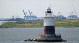 Robbins Reef lighthouse