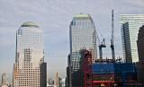 World Trade Center, under construction