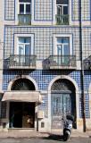Lisbon building facade (or façade)