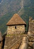 Machu Picchu thatched roof