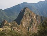 Machu Picchu below