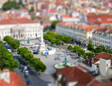 Lisbon Plaza tiltshift