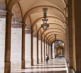 arches, Praça do Comércio
