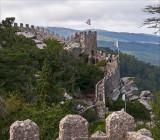 the wall Castelo Mouros