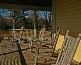 porch at Meadow Croft