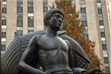 statue at Rockefeller Center