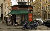 Street Corner in Roma
