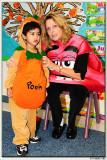 With his teacher