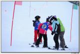 Getting ready to ski