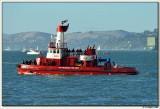 San Francisco Police Dept Boat