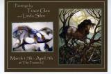 Trace Glau -  first art show, Prescott, AZ at the Frame & I, March 17 - April 7, 2006