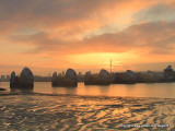 Sunrise over the Thames Barrier (1)