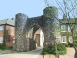 Castle Acre , the Bailey Gate.