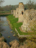 Baconsthorpe Castle,the western tower range