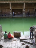 Tourists beside the Main Pool