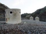 WW2 deterrents at Gaulter Gap.