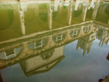 And  reflections  of Bath, in  the  bath.