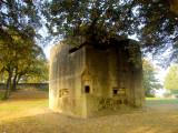 WW2  pillbox  at  Coalhouse  Fort.