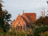 C14th century , Church  of  St. Mary  the  Virgin ,  in  the  dawn  light.