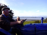 poke net fishing in the solway firth