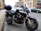 A  lovely Moto  Guzzi  Breva  1100.