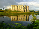 Carew  Castle  in  early  morning  sunshine.