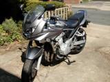 Suzuki GSF650F Bandit, a  hire  bike, reg.no. WM08 RTO.