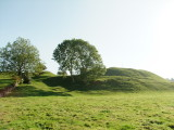Castle  Bytham  earthworks / 1