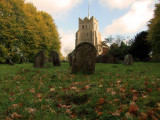 Autumn  in  the  churchyard