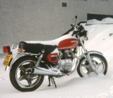 Honda  CB250T Dream,  9/1977  -  6/1978 Reg.No. YGC 655S