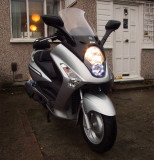 My  new  SYM  GTS250i  scooter.