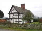 A  much-loved  half-timbered  house.