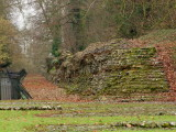 Verulamium  town  walls , remains  thereof
